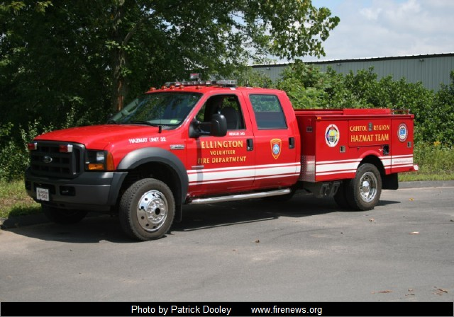 Incroyable Rescue 343, 2007 Ford F 550 (CT Haz/Mat Unit 32)