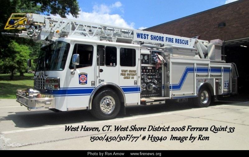 west shore fire district west haven, connecticut